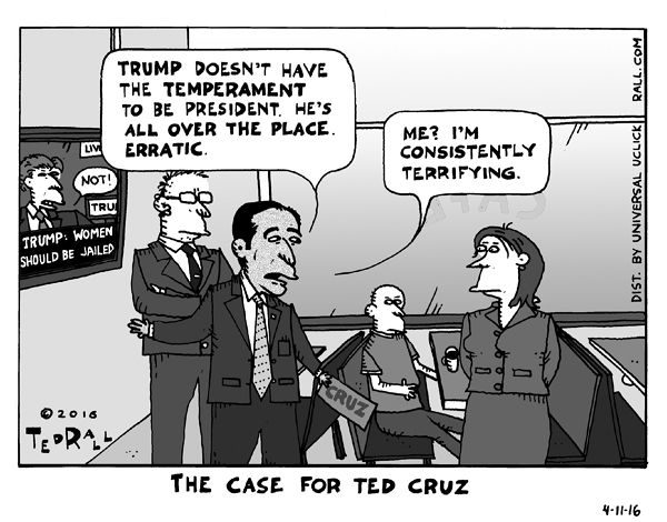 As the second-place candidate in the Republican campaign, Ted Cruz is the main beneficiary of the Stop Trump movement. He can make a case against Trump, but can he make the case for himself?