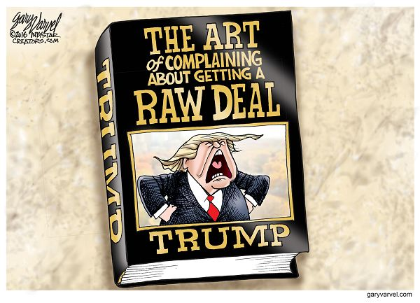 Donald Trump is not happy about the way the GOP is treating him. He should write a sequel to his best-selling book, The Art of the Deal.