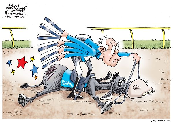 Is Bernie Sanders beating a dead horse?