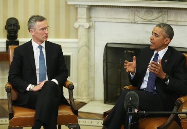 Barack+Obama+President+Obama+Meets+NATO+Secretary+8UtGdSPRcQfl