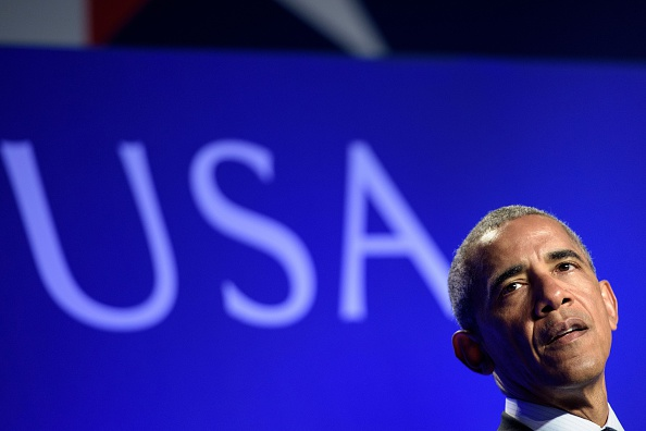US President Barack Obama speaks during a SelectUSA Summit June 20, 2016 in Washington, DC. The Summit is the highest-profile event that promotes foreign direct investment (FDI) in the United States. It provides an unparalleled opportunity to bring together companies from all over the world, economic development organizations from every corner of the nation, others working to facilitate investment in the United States, and high-level government officials. Participants can find the practical tools, information and connections they need to move investments forward. / AFP / Brendan Smialowski (Photo credit should read BRENDAN SMIALOWSKI/AFP/Getty Images)