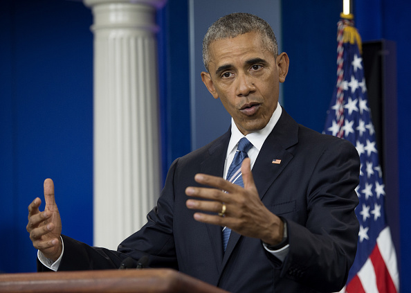U.S. President Barack Obama speaks during a news conference in the White House briefing room in Washington, D.C., U.S., on Thursday, June 23, 2016. The U.S. Supreme Court divided evenly over Obama's plan to shield as many as 4 million unauthorized immigrants from deportation, a deadlock that effectively kills the initiative for the rest of his presidency. Photographer: Molly Riley/Pool via Bloomberg