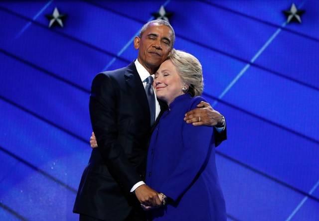 Obama Hug
