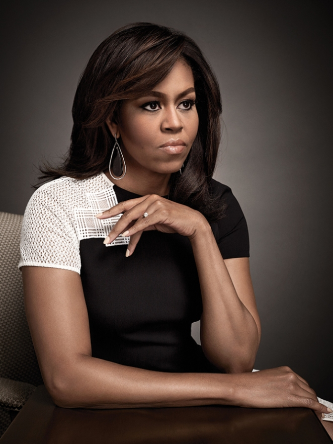 michelle obama The bet network booted a pulitzer prize-winning journalist from its conference for publishing a q&a with michelle obama, sparking a social media storm the network had invited the washington.