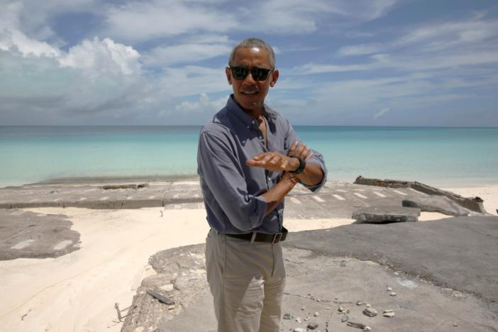 U.S. President Barack Obama tours Papahanaumokuakea Marine National Monument on Midway Atoll, U.S. September 1, 2016. REUTERS/Jonathan Ernst